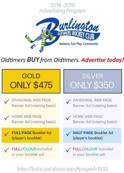 Advertise with BOHC